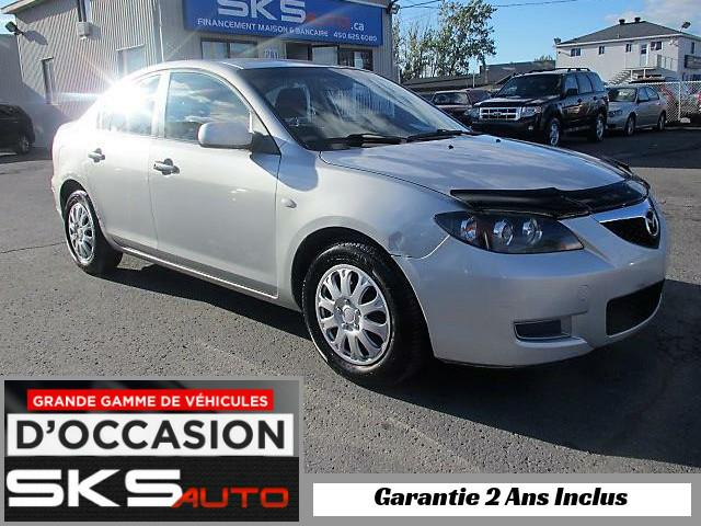 Mazda MAZDA3 2007 (GARANTIE 2 ANS INCLUS) *FINANCEMENT MAISON* #SKS-3905-04