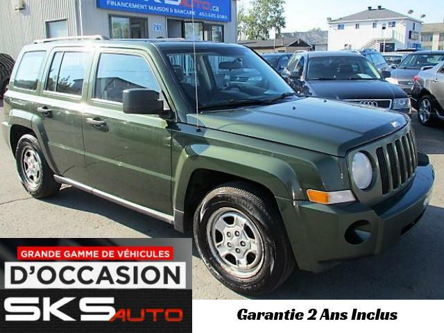 Jeep Patriot 2009 4x4 (GARANTIE 2 ANS INCLUS) *FINANCEMENT MAISON* #SKS-3898-06