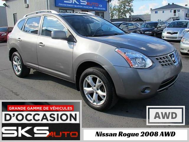 Nissan Rogue 2008 AWD SL #SKS-3926-01