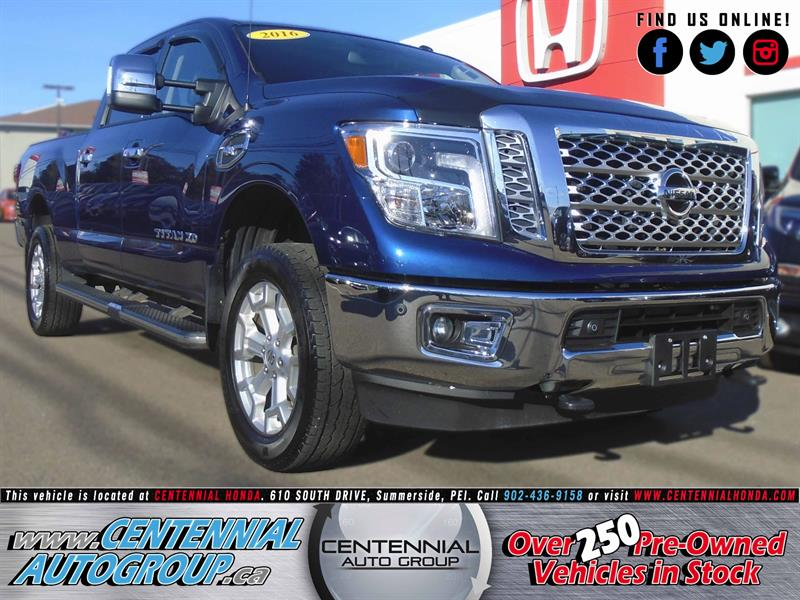 2016 Nissan Titan XD SL | V8 | 4WD | Bluetooth  #U1633