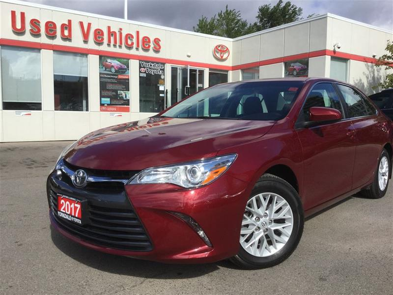 2017 Toyota Camry LE - BLUETOOTH, BACKUP CAM, ALLOYS, KEYLESS ENTRY #C6732