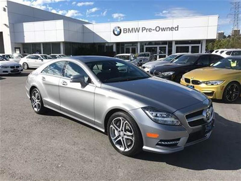 2013 Mercedes-Benz CLS550 4MATIC Coupe #BP5207