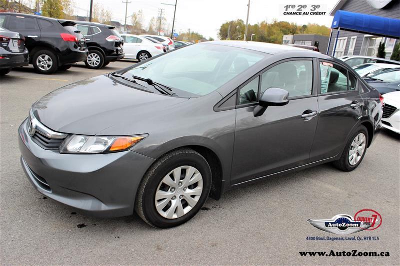 Honda Civic Sdn 2012 LX  #A4202