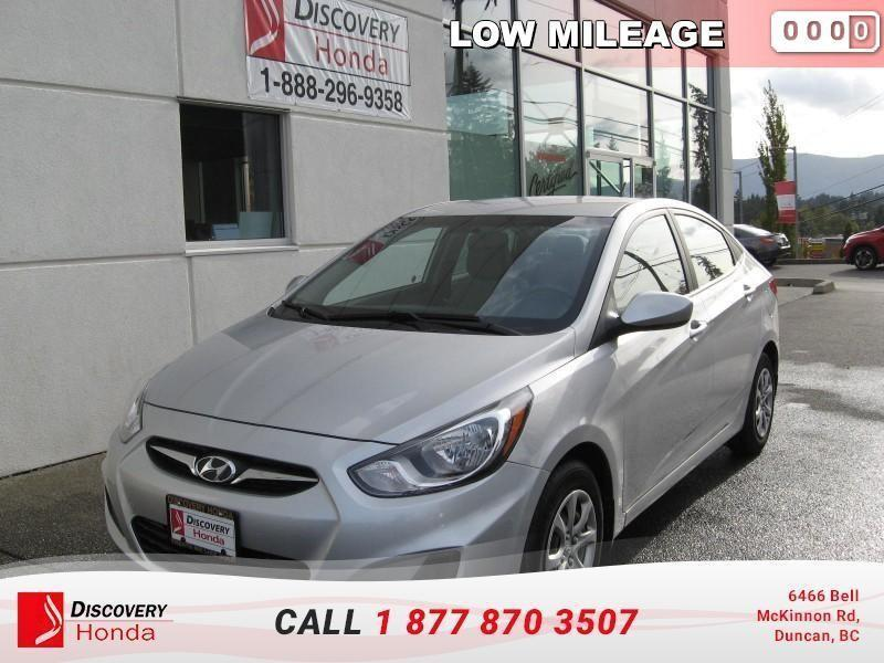 2014 Hyundai Accent 4Dr GLS at  - local - Low #17-389H