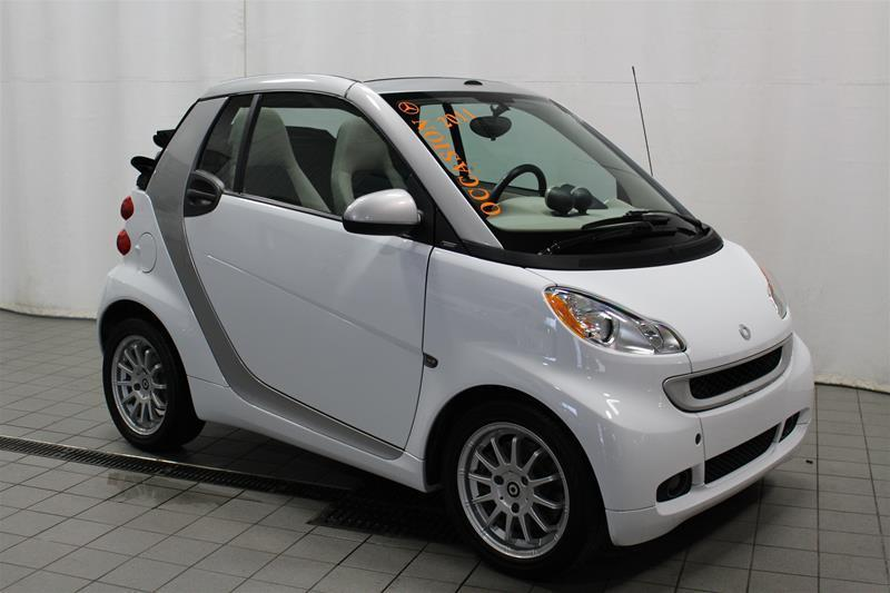 Smart fortwo 2011 passion cab CONVERTIBLE #U17-394