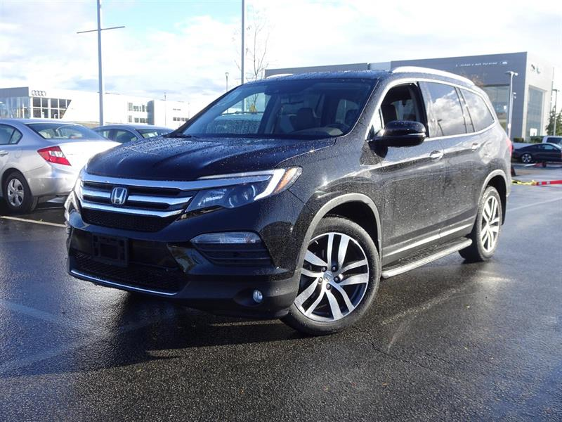 2016 Honda Pilot Touring! Honda Certified Extended Warranty to 120, #LH7746