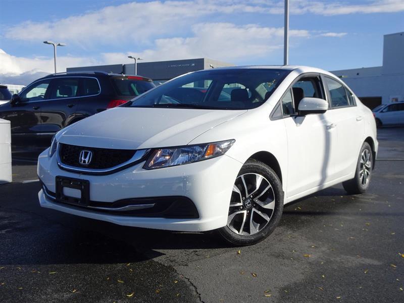 2014 Honda Civic EX! Honda Certified Extended Warranty to 160,000 K #LH7749