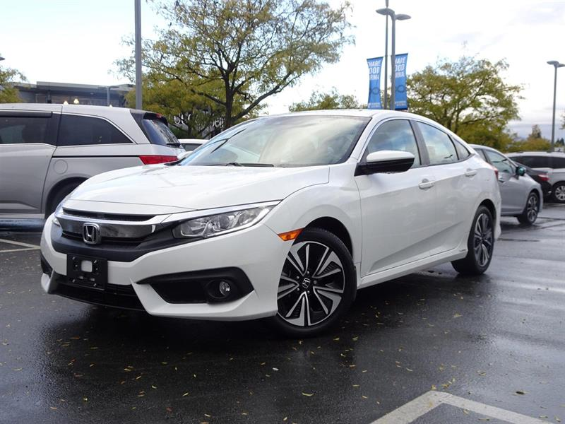 2016 Honda Civic EX-T! Honda Certified Extended Warranty to 160,000 #LH7758