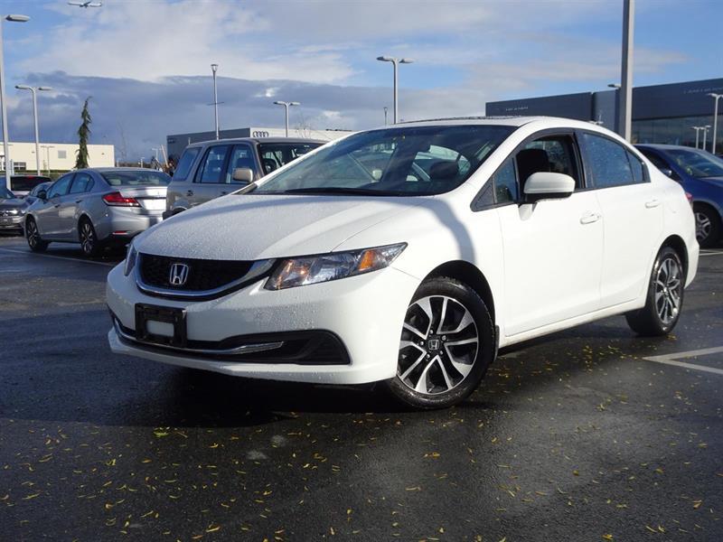 2015 Honda Civic EX! Honda Certified Extended Warranty to 160,000 K #LH7767