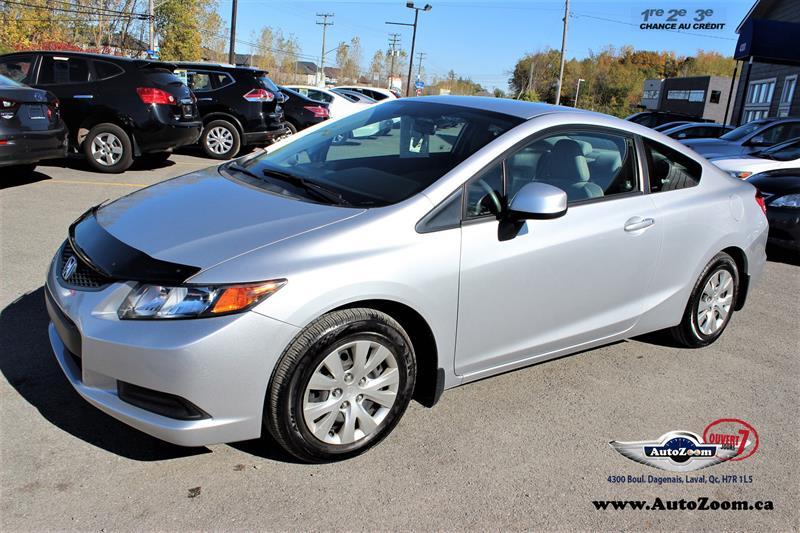 Honda Civic Cpe 2012 LX  #A4209