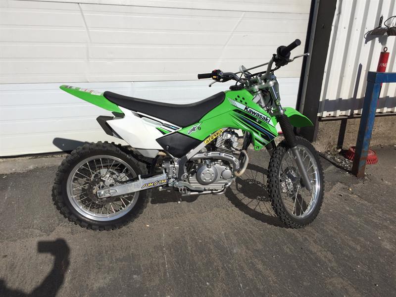 Kawasaki KLX140L 2012