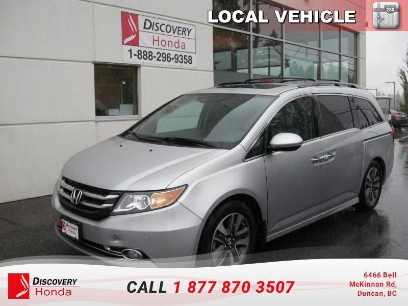 2015 Honda Odyssey Touring  - one owner - lo #18-013A