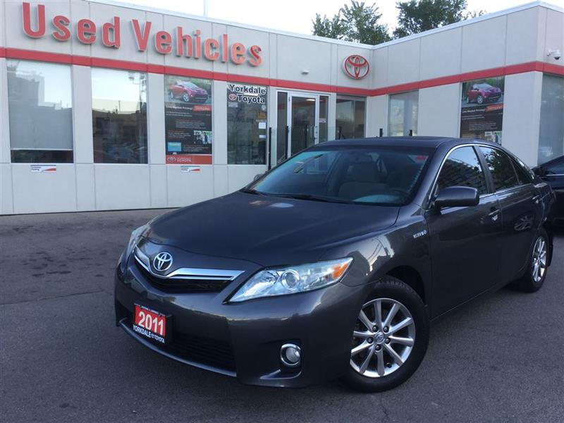 2011 Toyota Camry Hybrid BLUETOOTH, SUNROOF, PUSH BUTTON START, POWER SEATS #7390351A