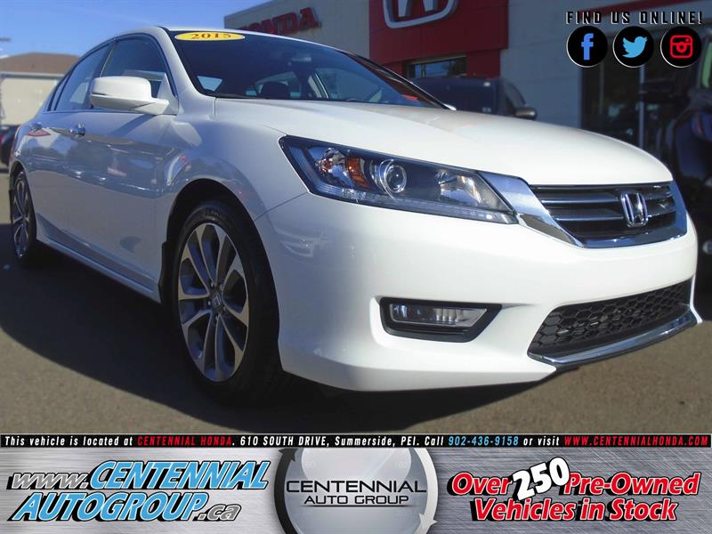 2015 Honda Accord Sedan Sport | 2.4L | Bluetooth | Cruise Control #8817A