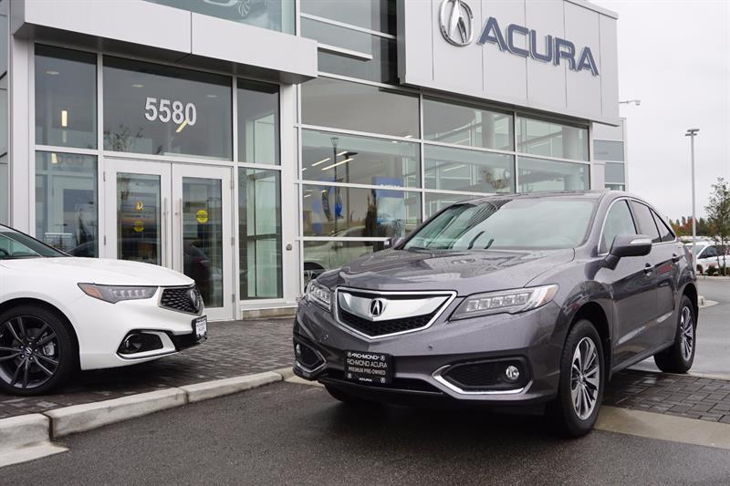 2017 Acura RDX AWD 4dr Elite Pkg Bluetooth Sunroof Camera #836348A