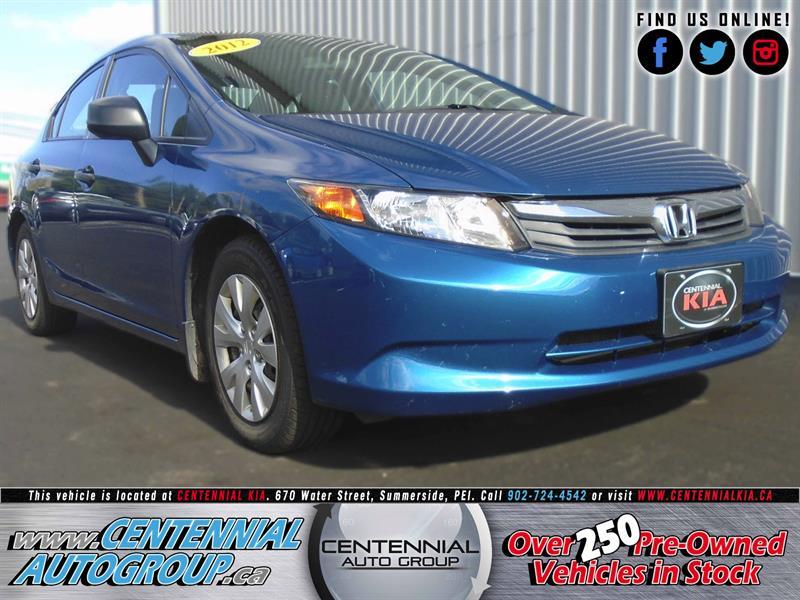 2012 Honda Civic Sedan DX | 1.8L | i4-Cyl | Traction Control #U713A