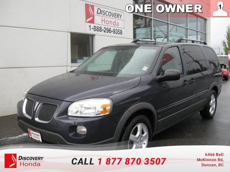 2009 Pontiac Montana 4D Ext Wagon  - one owner #18-035A