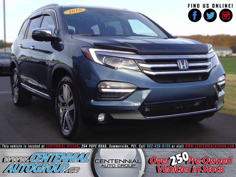 2016 Honda Pilot Touring | Excellent Condition | One Owner |  #S17-143A