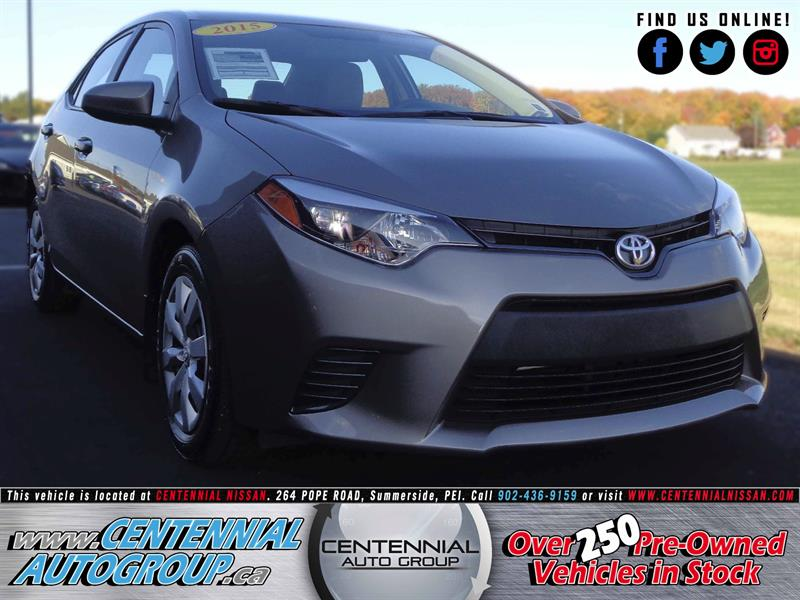 2015 Toyota Corolla LE | 1.8L | i4-Cyl | Air Condition #S17-307A