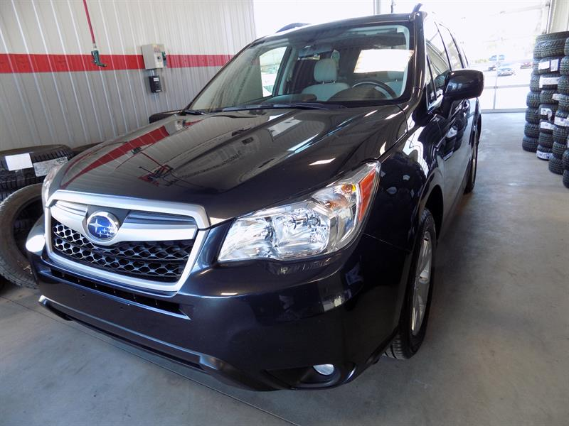 Subaru Forester 2014 2.5i LIMITED TOIT/CAM/MAGS GARANTIE 2021 !!! #17-323A