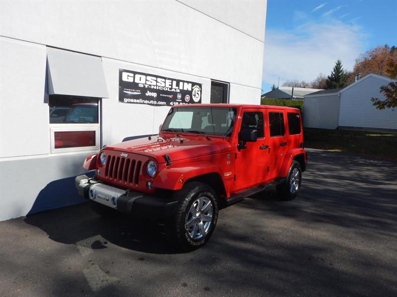 Jeep Wrangler Unlimited 2015 SAHARA #D4250A