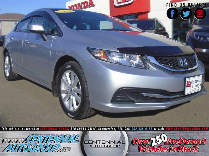 2013 Honda Civic Sedan LX | 1.8L | i4-Cyl | Bluetooth | Cruise Control #U1614