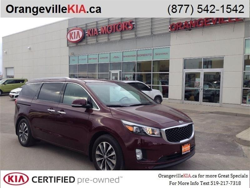 2016 Kia Sedona SX+ *CPO* Leather #K0407