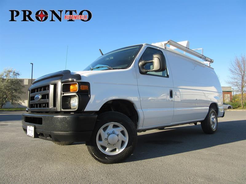 Ford Econoline Cargo Van 2009 E-150 ** Voir équipement! ** #3473