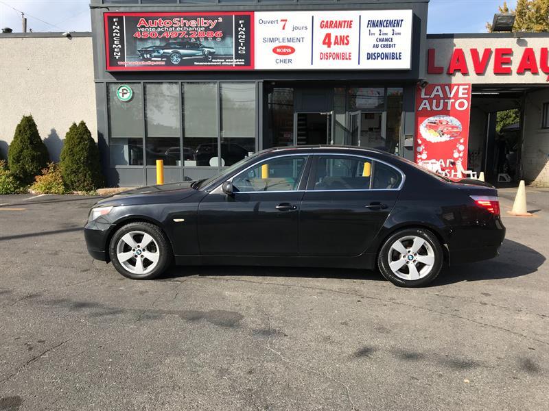 BMW 5 Series 2006 525XI-AWD-AUTO-CUIR-TOIT #4232