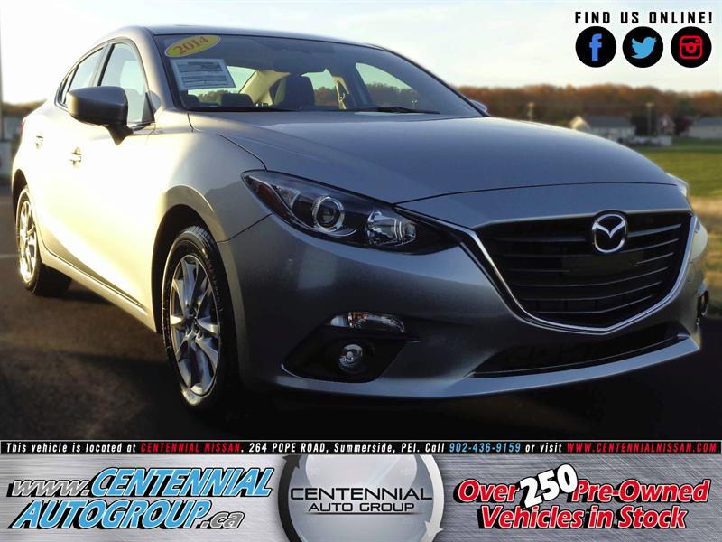 2014 Mazda MAZDA3 GS | Touring | Fuel Sipping | One Owner | #S17-228A