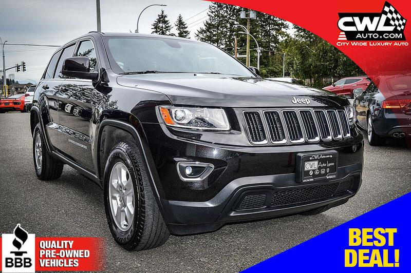 2014 Jeep Grand Cherokee 4WD Laredo - ONE OWNER / NO ACCIDENTS #CWL8084M