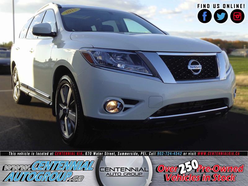 2015 Nissan Pathfinder Platinum | 3.5L | V6 | Bluetooth #SP17-039