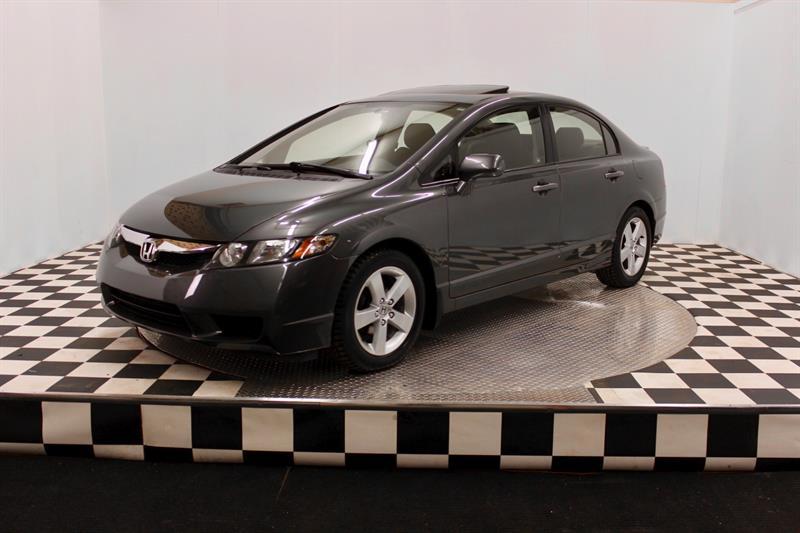 Honda Civic Sdn 2010 LX-SR (toit ouvrant+Mag) #A6441-1