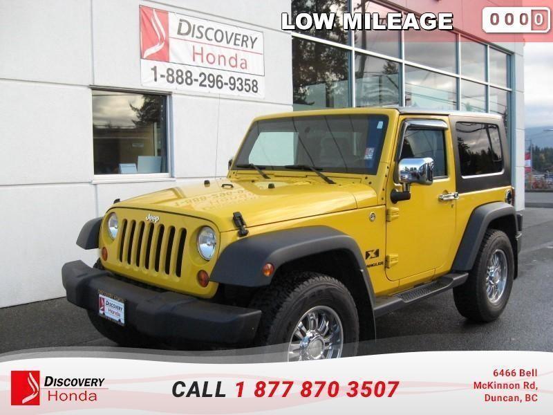 2009 Jeep Wrangler X 2D Utility 4WD  - $176. #17-555A