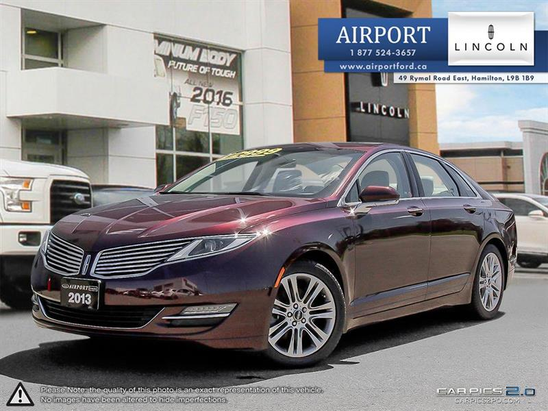 2013 Lincoln MKZ 2.0L with only 53,129 kms !!  #OHL817