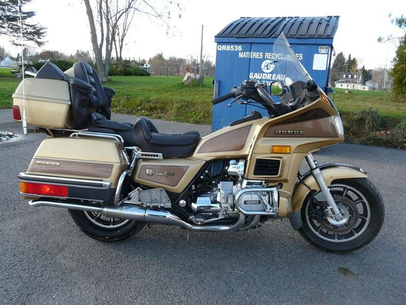 Honda Goldwing Edition Limité 1985