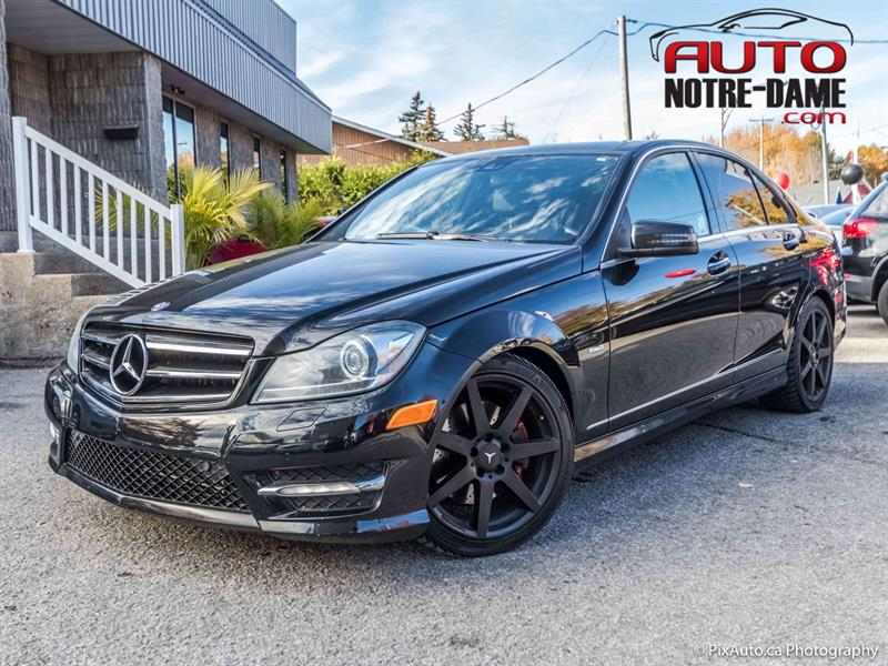 Mercedes-Benz C-Class 2012 4dr Sdn C 350 4MATIC toit panoramique  #k0641