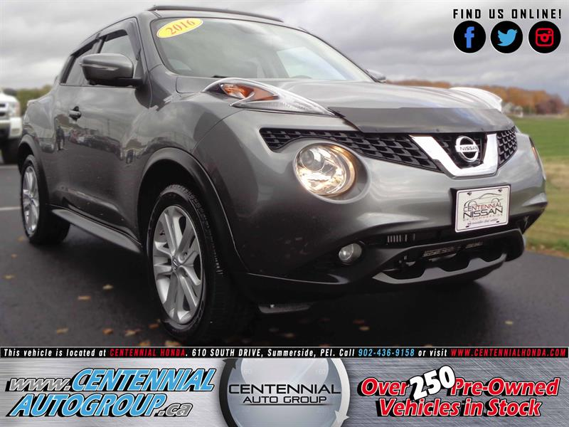 2016 Nissan Juke SL | AWD | Moonroof | Navi | Leather | #SP17-041