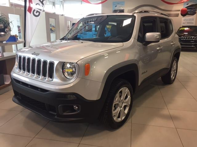 Jeep Renegade 2017 4WD LIMITED + TOIT OUVRANT + GPS #Z17777