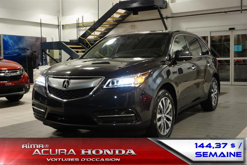 Acura MDX 2015 ENSEMBLE NAVIGATION #C858