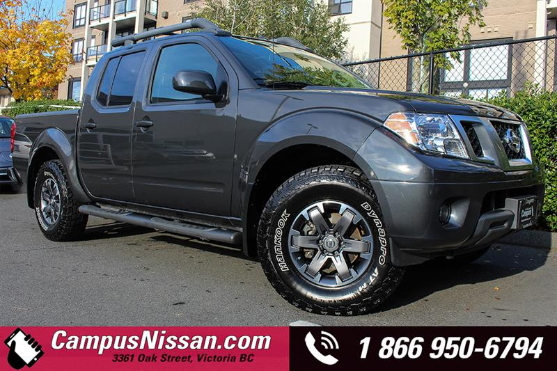 2015 Nissan Frontier 4WD Crew Cab PRO-4X Navi + Leather #7-T477A