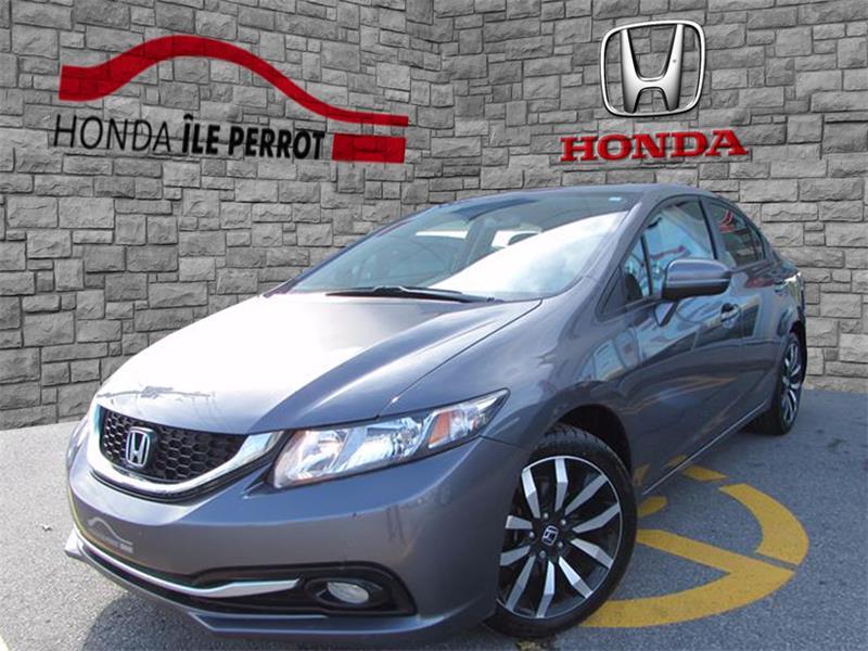 Honda Civic Sedan 2014 4dr CVT Touring NAVI, CAMERA D'ANGLE MORT #44273