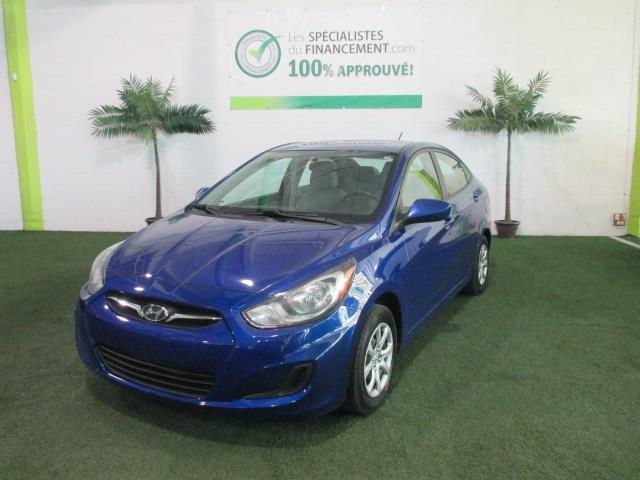 Hyundai Accent 2012 4dr Sdn #1840-07