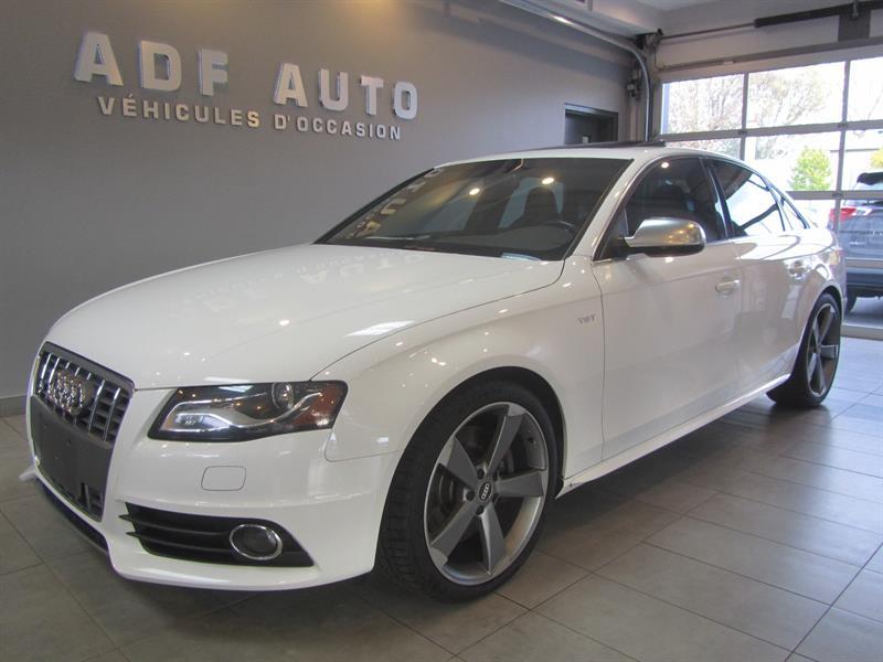 2012 Audi S4 QUATTRO/ NAVIGATION / SPORT / MAGS 19 POUCES  #S4008