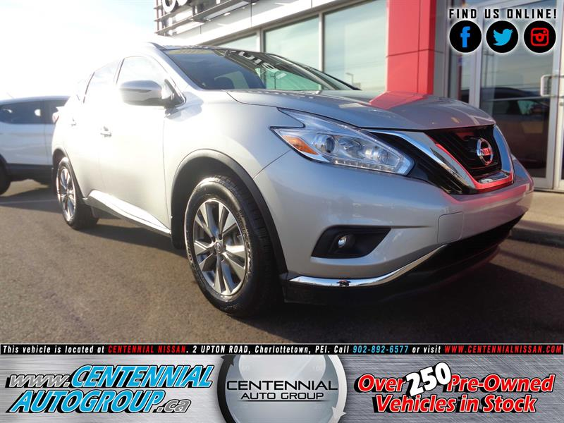2017 Nissan Murano SV | AWD | Navigation | Dual Moonroof | Bluetooth #P17-202