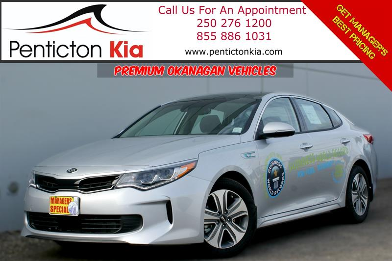2017 Kia Optima Hybrid EX Premium - Panoramic Sunroor, Navigation #17OP01