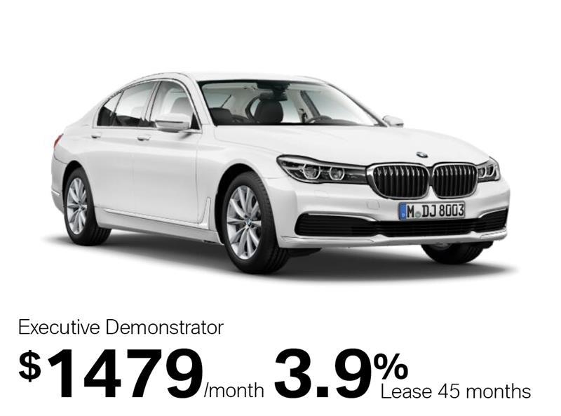 2018 BMW 7 Series 750Li xDrive Sedan #J0029