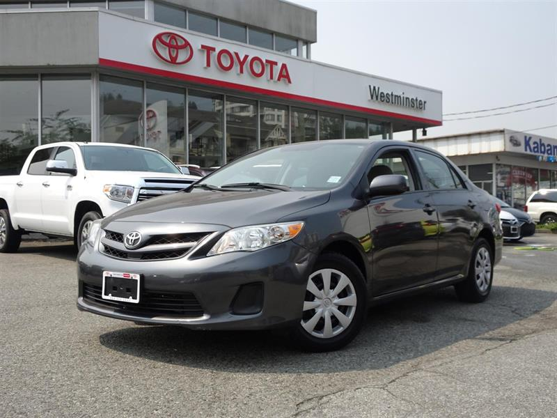 2013 Toyota Corolla CE Enhanced Convenience Package #P6352T