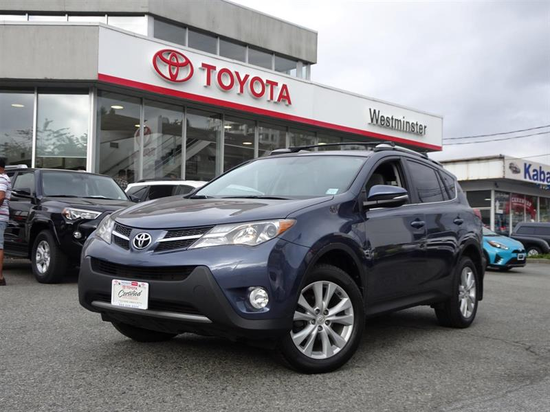 2013 Toyota RAV4 Limited with Navigation #P6357T