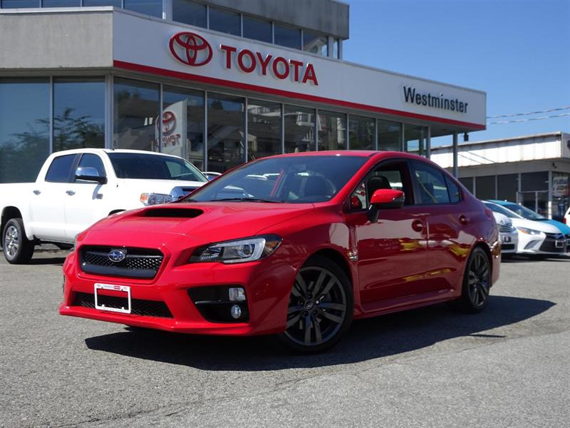 2016 Subaru Wrx Sport Technology Package #P6375T